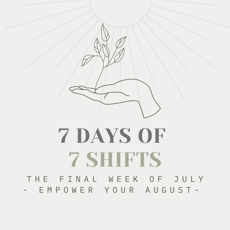 7 Days of 7 Wellness Shifts